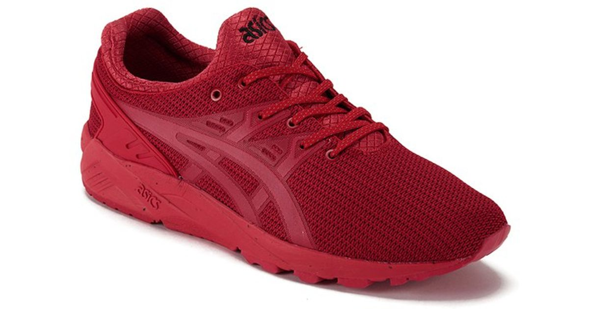 newest 9db82 e8f85 Asics Red Men's Gel Kayano Trainers (evo Tech Pack) for men