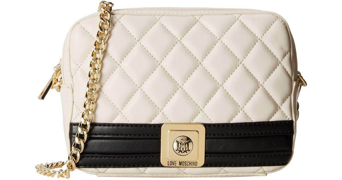 small crossbody bag - White Love Moschino 0EYcyf