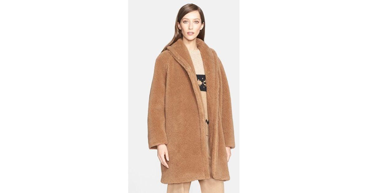 d2a5ad275 Lyst - Max Mara  Teddy Bear  Coat in Natural