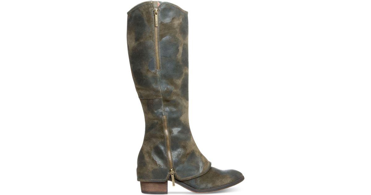 2f697ba520d Donald J Pliner Green Donald J Pliner Devi Tall Wide Calf Boots