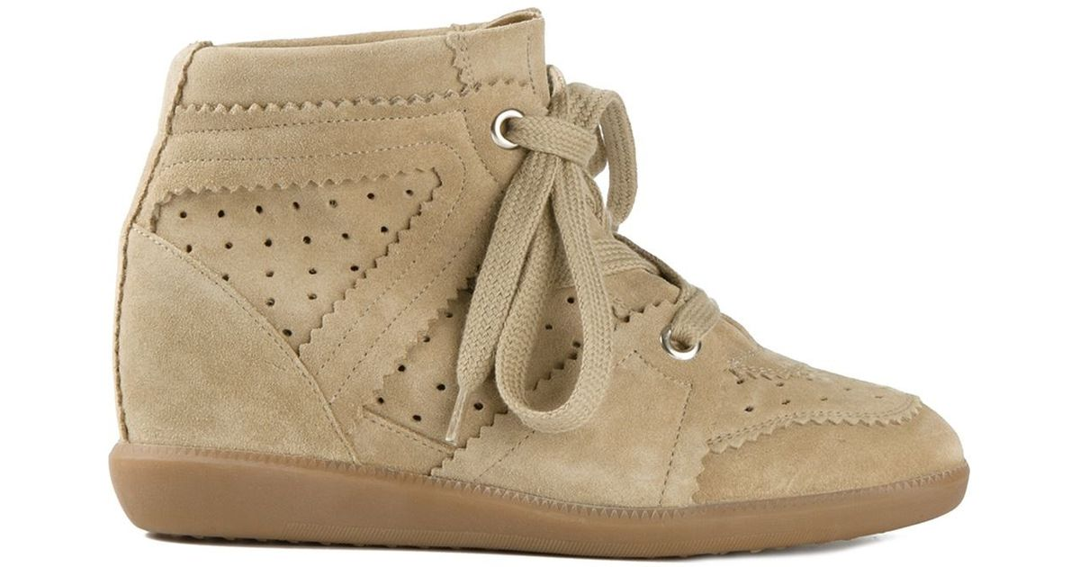 Fabulous Étoile Isabel Marant Bobby Sneakers in Natural - Lyst #GM65