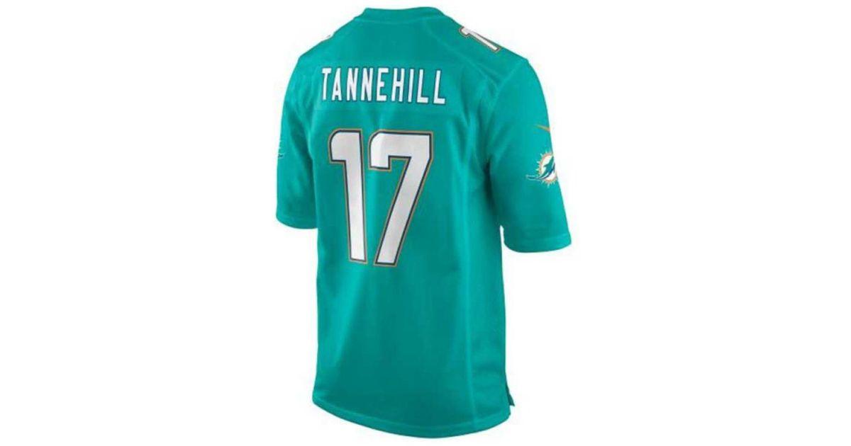 b6f02934 Nike Blue Little Boys' Ryan Tannehill Miami Dolphins Game Jersey for men