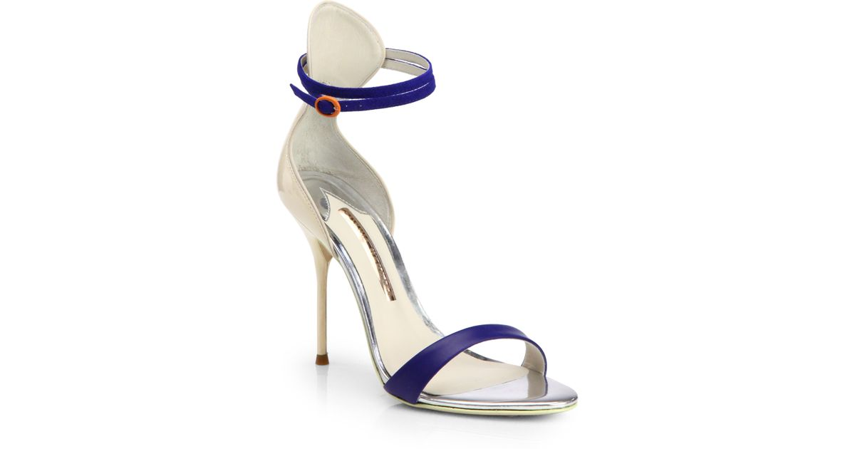 SOPIA Mixed Color Block Heel Sandals 2014 new sale online recommend best seller cheap online GQtiG