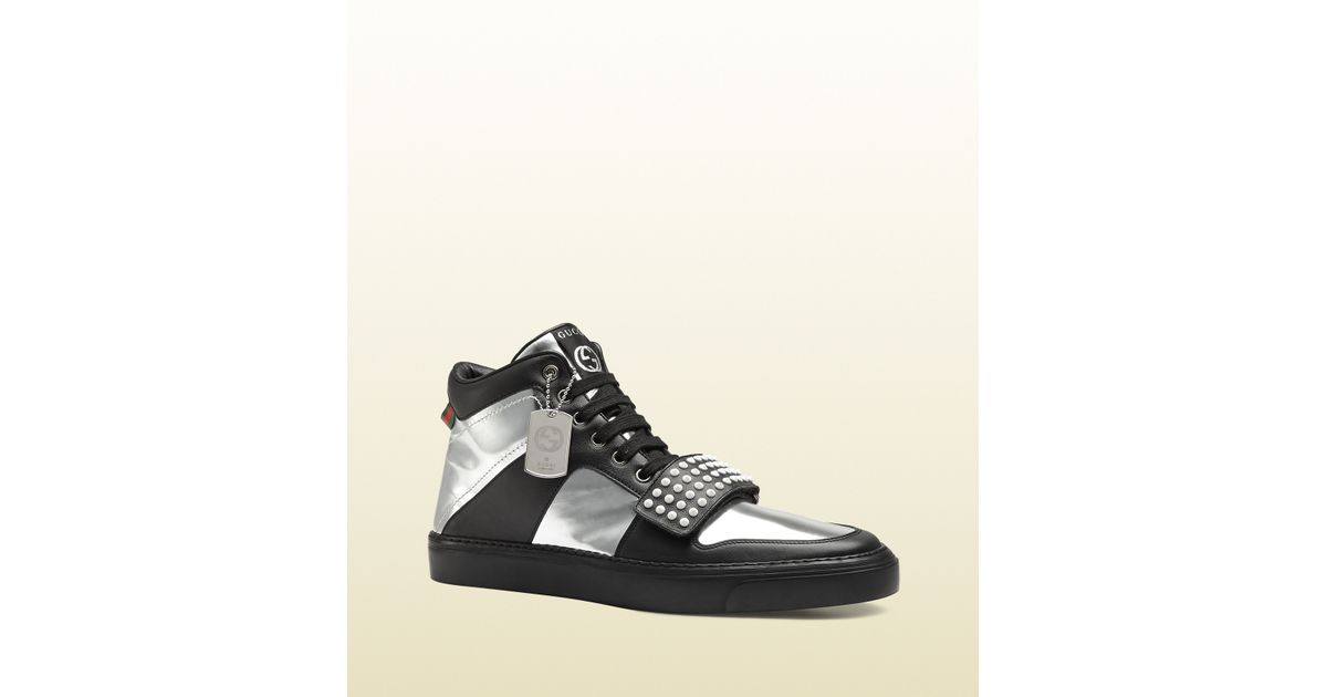 Gucci Limited Edition Leather High-top