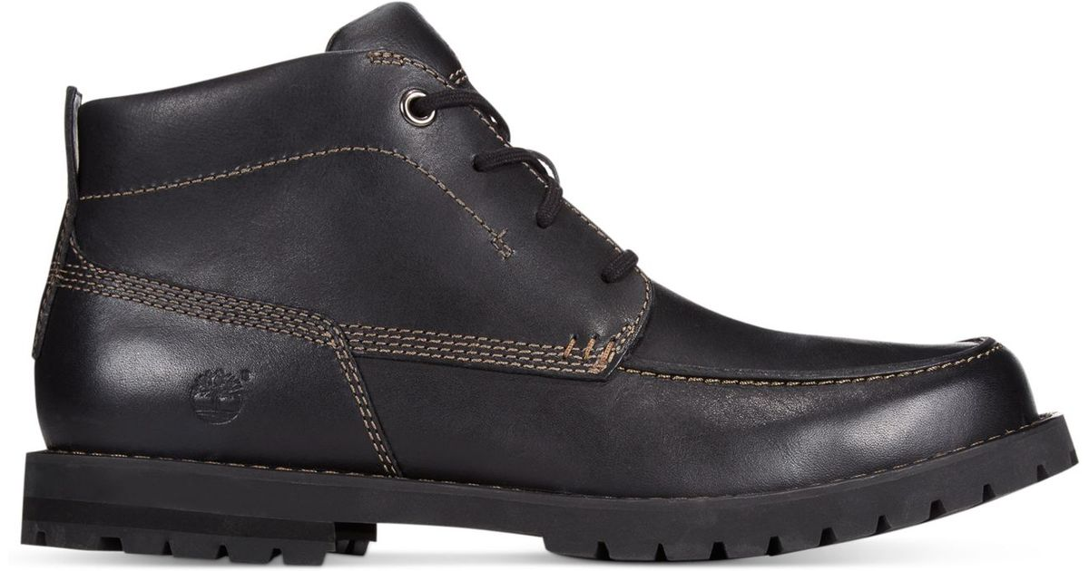 timberland s baluster chukka boots in black for lyst