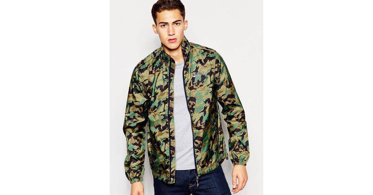 Hilfiger denim camouflage jacket