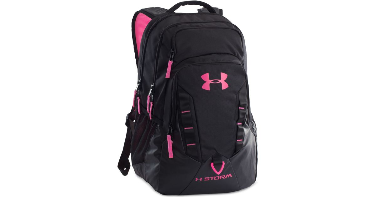 74b9f3fd1e ... Lyst - Under Armour Storm Recruit Backpack in Black . ...