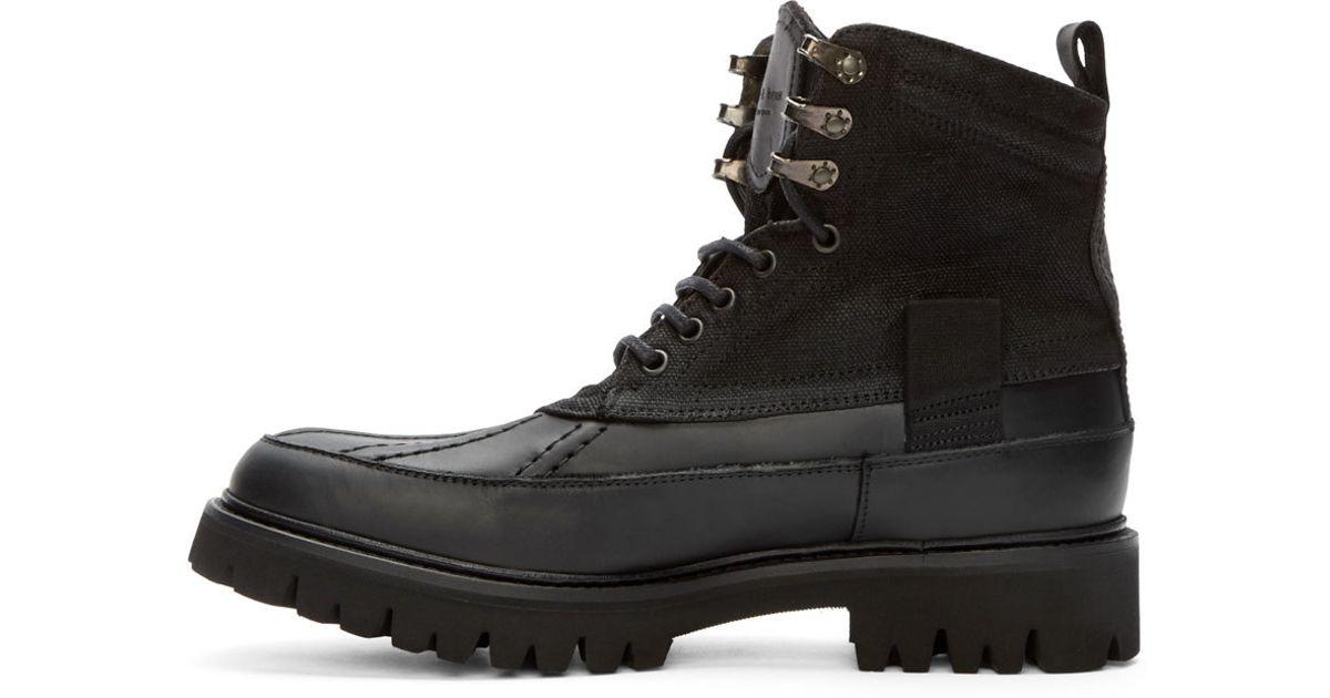 Meilleur Authentique Rag and Bone Rag & Bone Black Spencer Boots fiable MDuwH6