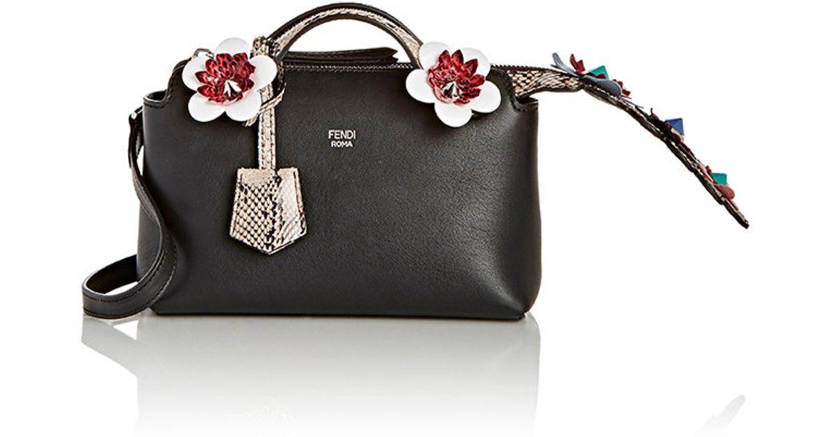Lyst - Fendi Women s By The Way Mini-satchel in Black 2f062cd671420