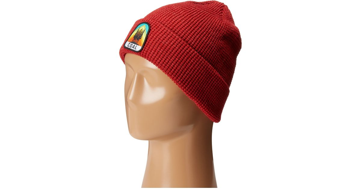 d068199ef2e Lyst - Coal The Summit Beanie in Red