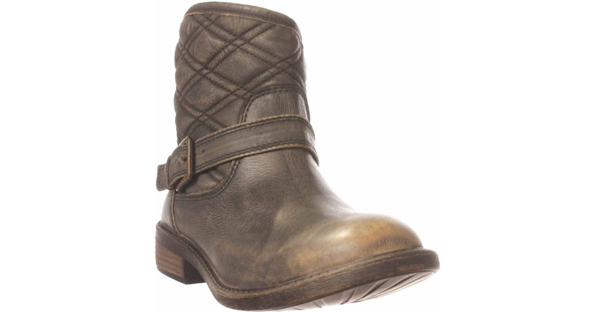 Lucky brand Nordic Ankle Boot in Brown (olive)