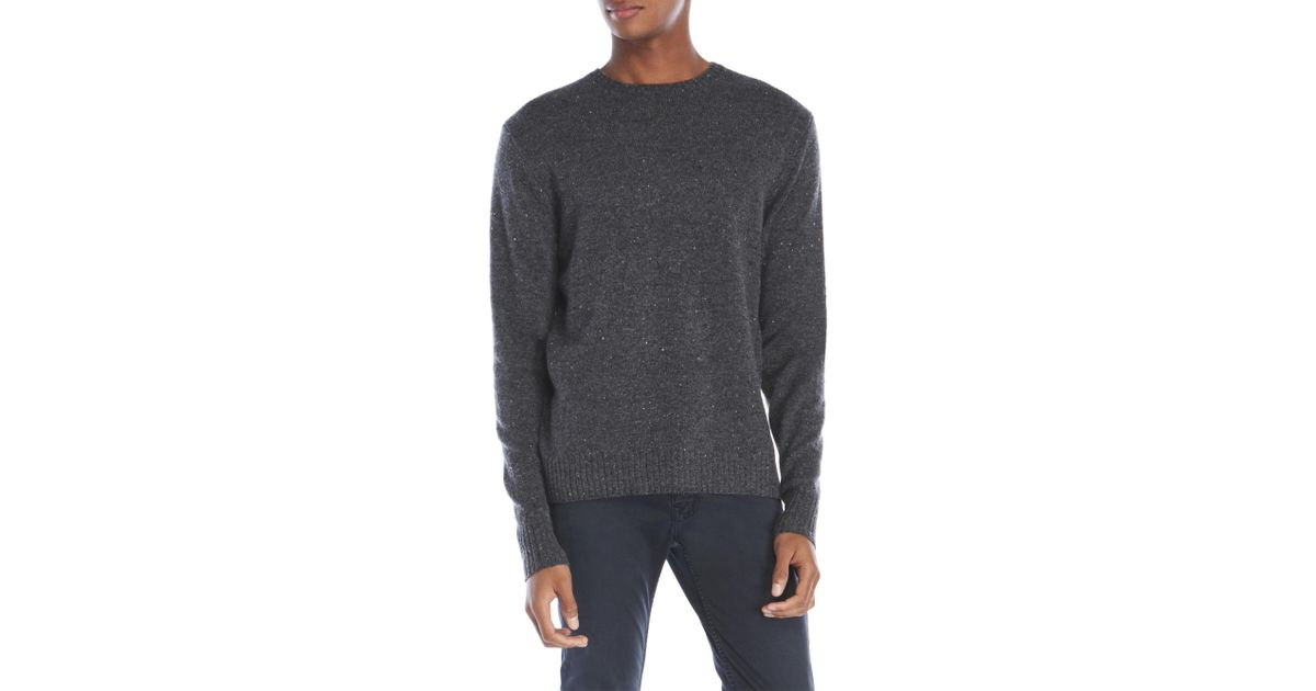 Alex mill New England Donegal Wool Sweater in Gray for Men | Lyst