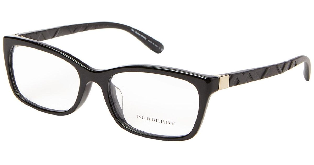 a16fe9a4ad1 Lyst - Burberry B2220-f Black Rectangle Optical Frames in Black for Men