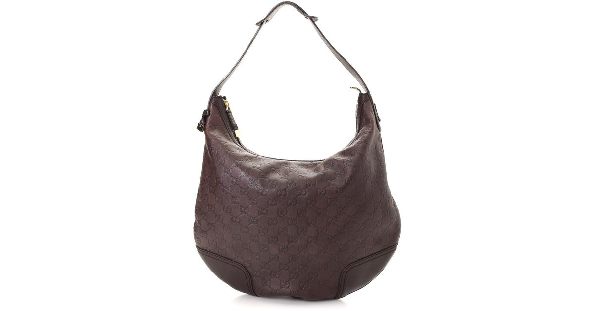 691e1399793 Lyst - Gucci Princy Shoulder Bag - Vintage in Brown