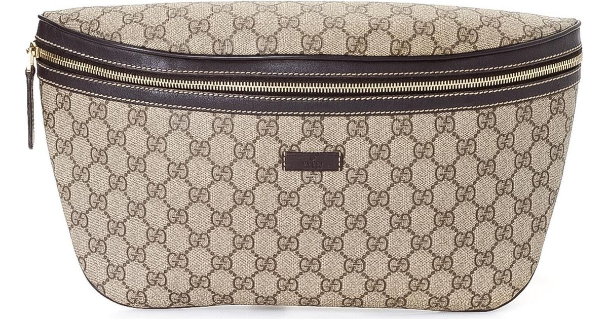 165ac2d35 Gucci Waist Pouch - Vintage in Natural - Lyst