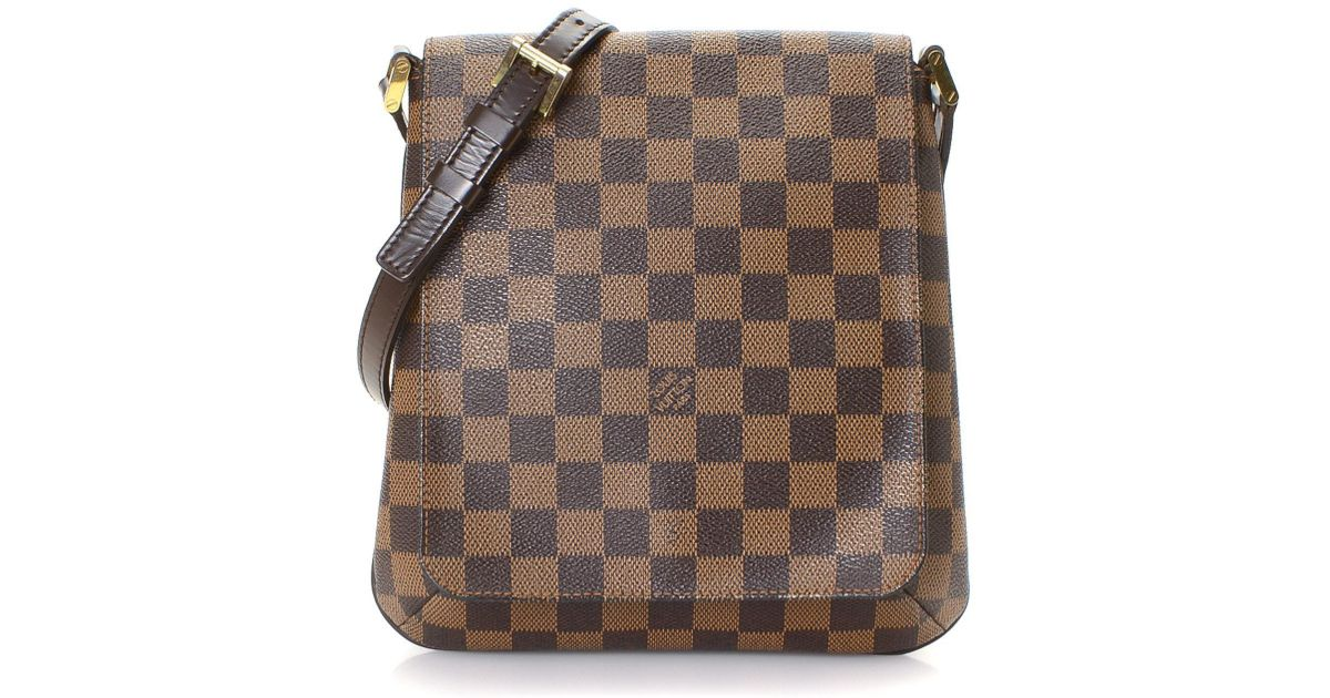 90c983343309f Louis Vuitton Damier Ebene Musette Salsa Long Strap Crossbody Bag - Vintage  in Brown - Lyst