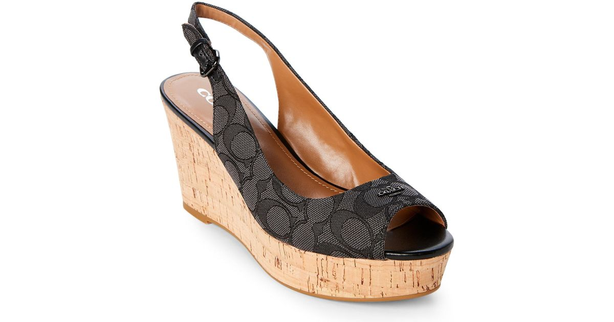 eeb0001fdda germany coach wedge shoes 47a19 fbad2
