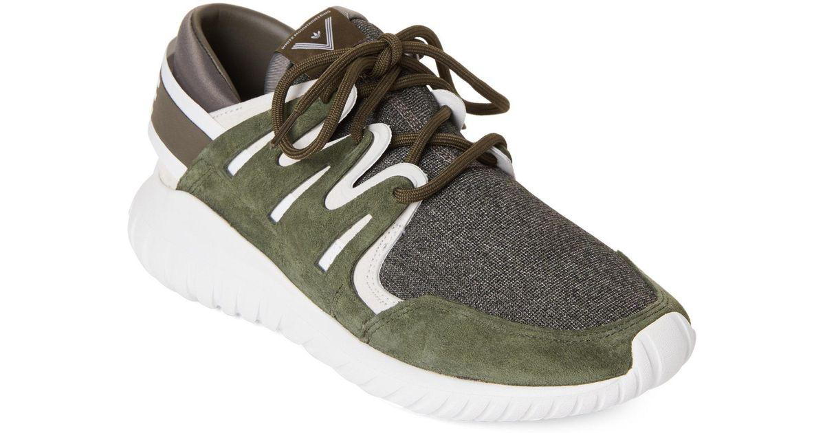 9f620f508 Lyst - adidas Night Cargo   White Tubular Nova Running Sneakers for Men