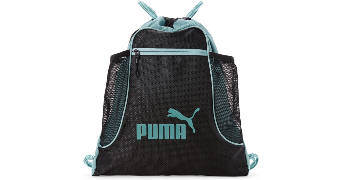 c532fa8f46c PUMA Blue Equinox Drawstring Backpack in Blue for Men - Lyst