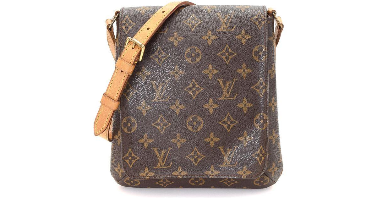 021b9d0c94fd5 Louis Vuitton Musette Salsa Long Strap Crossbody - Vintage in Brown - Lyst