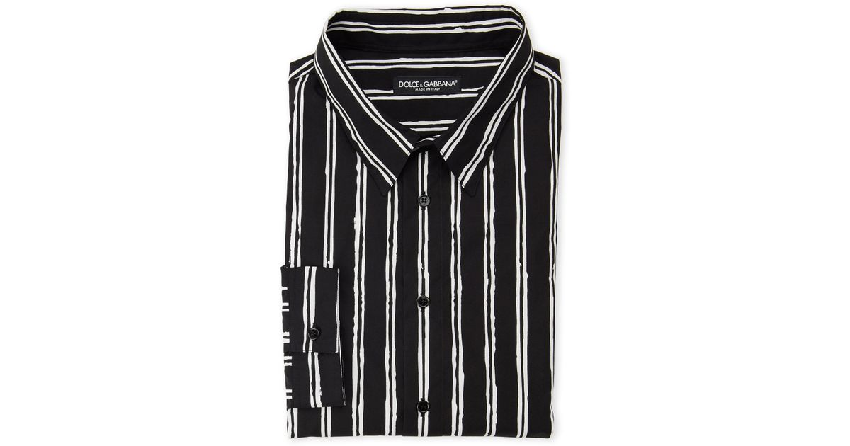 "Dolce /& Gabbana /""Slim Fit/"" Men/'s Multi-Color Striped Dress Shirts US 15 IT 38"