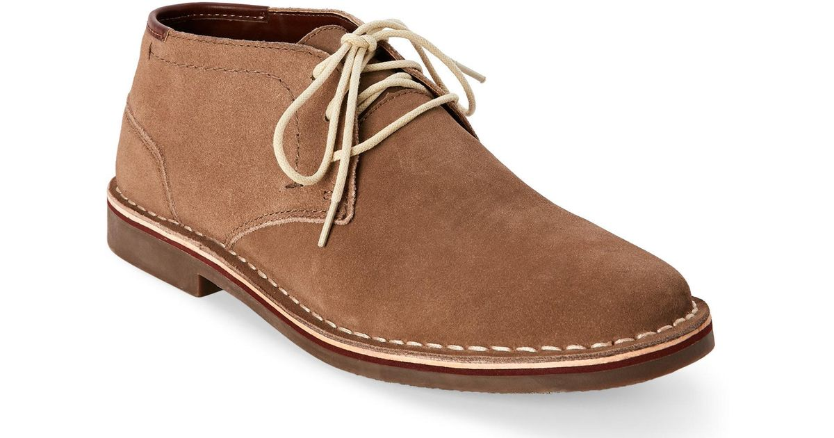 a0e8428f2cb Kenneth Cole Reaction Brown Taupe Desert Wind Chukka Boots for men