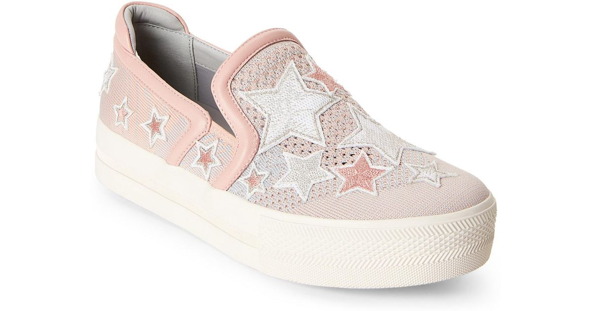 pretty nice ddd29 355ba Lyst - Ash Cotton Candy   Grey Jeday Slip-on Sneakers in Gray