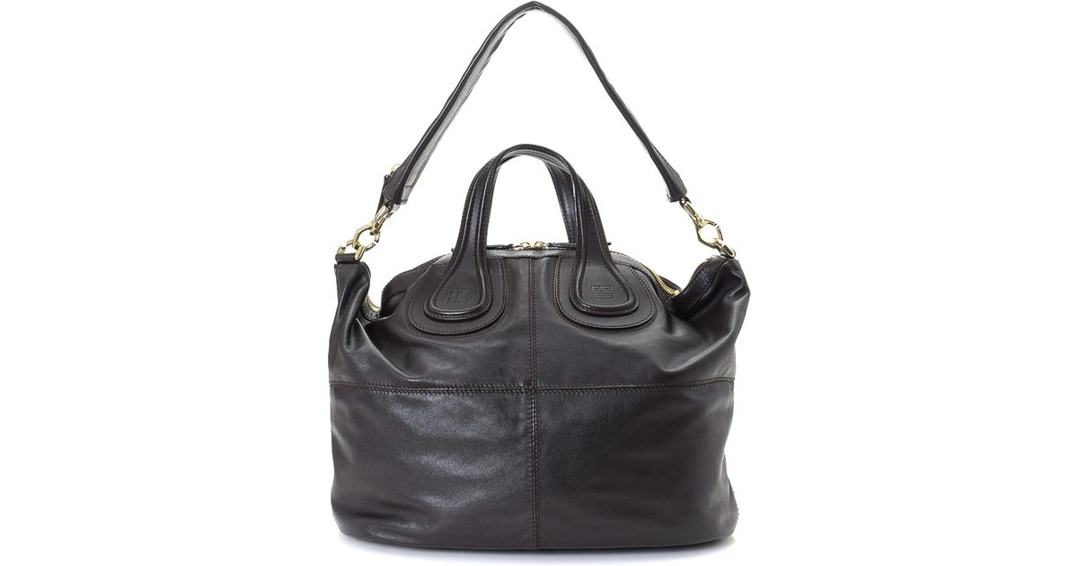 44bb77597e Lyst - Givenchy Nightingale Two Way Leather Shoulder Bag - Vintage in Black