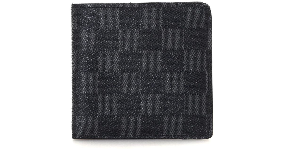 8ad2f774b5ad Lyst - Louis Vuitton Wallet - Vintage in Black for Men