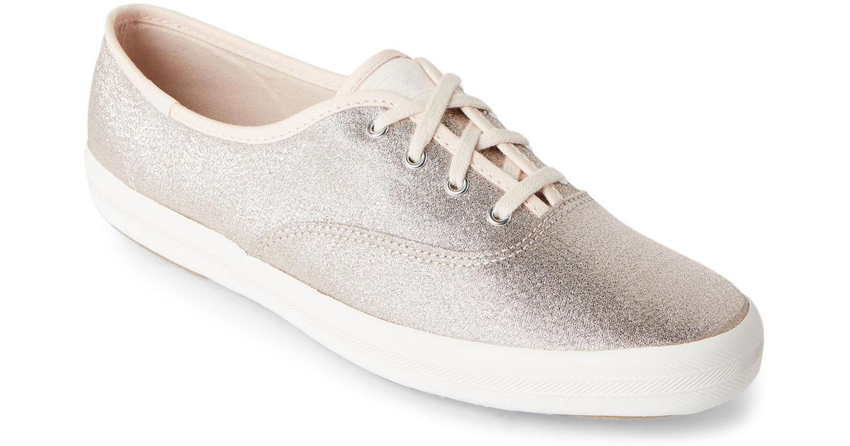 7d6923dd878ed Lyst - Keds Champagne Champion Lurex Sneakers for Men