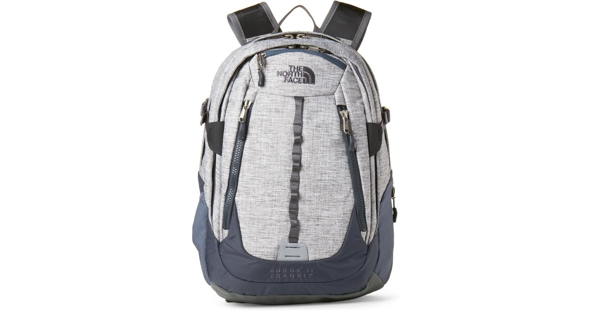 dd3ee4d53 The North Face Gray Grey Heather Surge Ii Transit Backpack for men