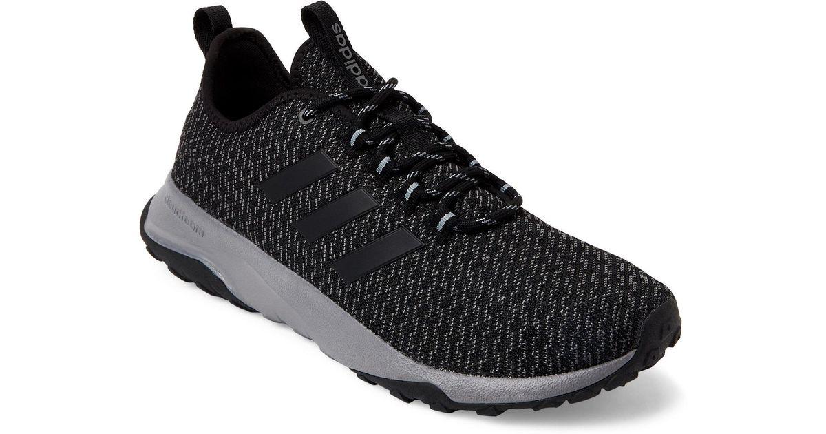 best sneakers bbc08 13bde Lyst - adidas Black  Grey Neo Cloudfoam Superflex Tr Sneaker