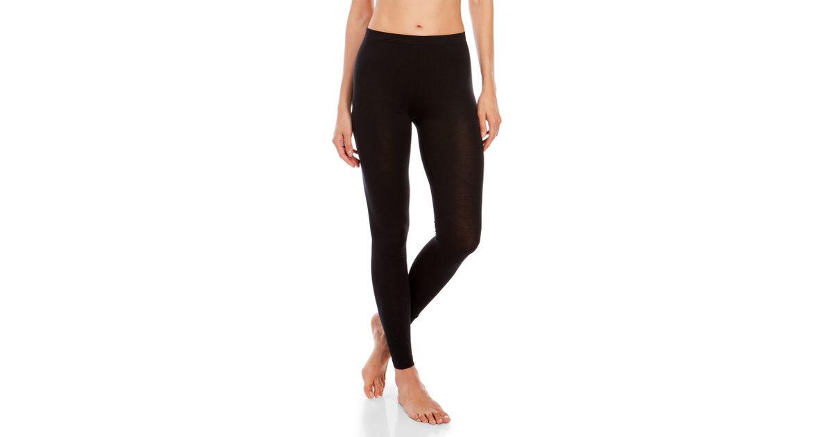 32 degrees Thin Striped Leggings in Black   Lyst