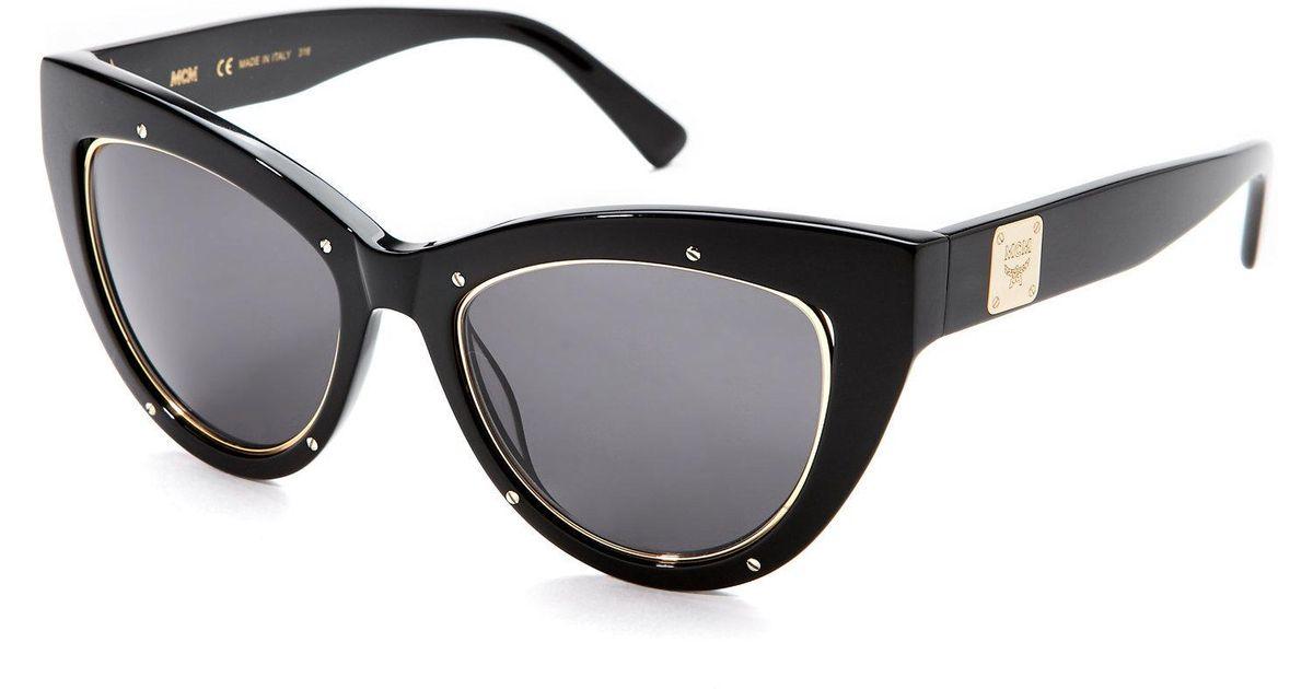 0fac669891 MCM 603S Xl Cat Eye Sunglasses in Black - Lyst