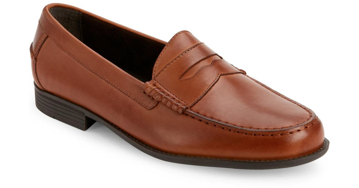 British Tan Dustin Penny Loafers