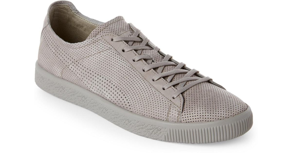 abfca6d976a Lyst - Puma Drizzle Clyde Perforated Low Top Sneakers for Men