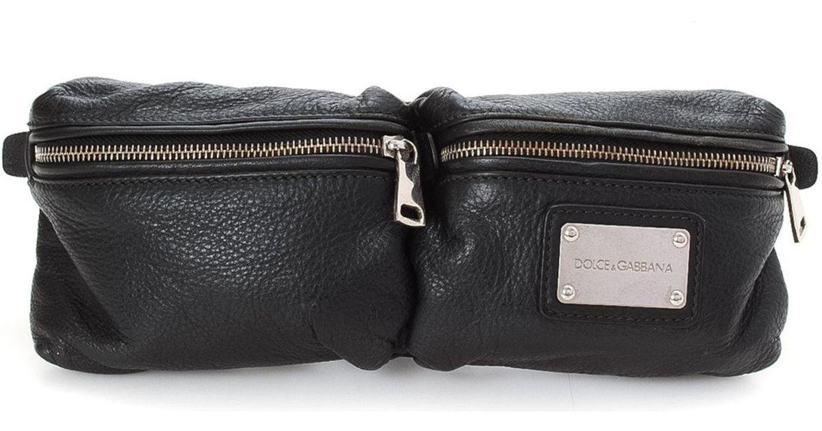 1735397e4a Lyst - Dolce   Gabbana Waist Pouch - Vintage in Black