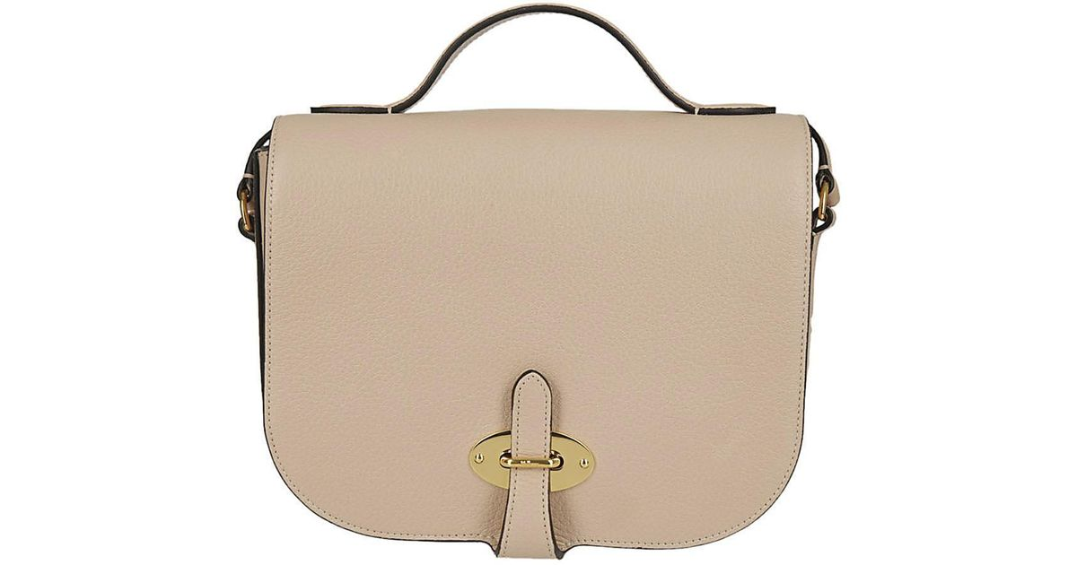46a39545c7c Lyst - Mulberry Saddle Bag in Pink