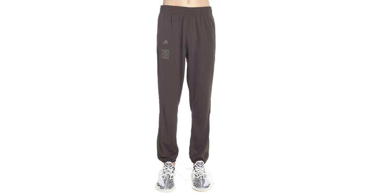 2ba70f42 Yeezy Adidas Calabasas Sweatpants in Brown for Men - Lyst