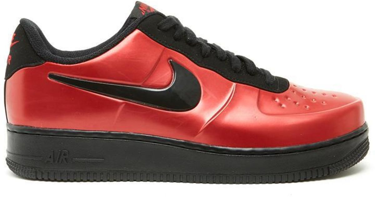 85c0f1397d230 Lyst - Nike Air 1 Foamposite Pro Cup Sneakers in Red for Men