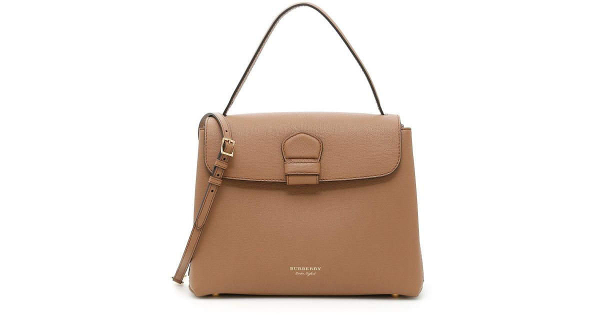 100d5cc5f2c3 Lyst - Burberry Medium Camberley Tote Bag in Natural