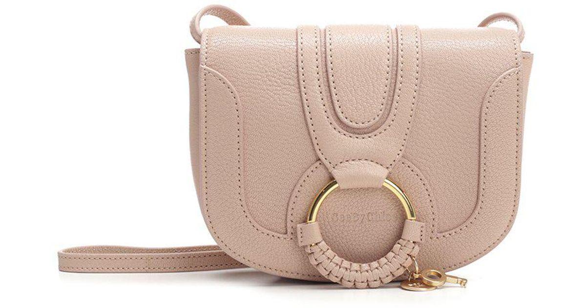 d335b7013e9e Lyst - See By Chloé Mini Hana Shoulder Bag in Pink