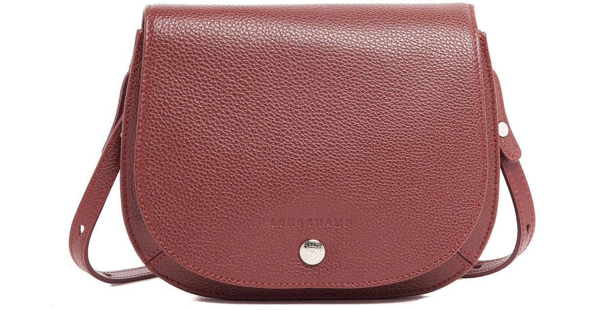 Lyst - Longchamp Le Foulonné Crossbody Bag in Red 2b59c4de5be7a