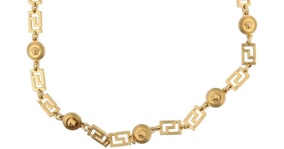 Versace Medusa Link Bracelet in Gold