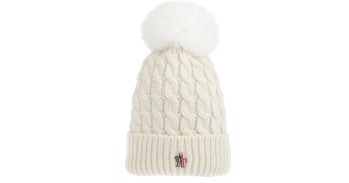 c44dc5bbe Moncler Grenoble White Hat