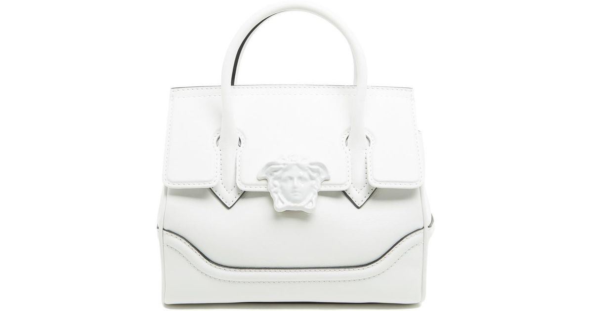 d62e67ed29cd Lyst - Versace Palazzo Empire Medium Bag in White