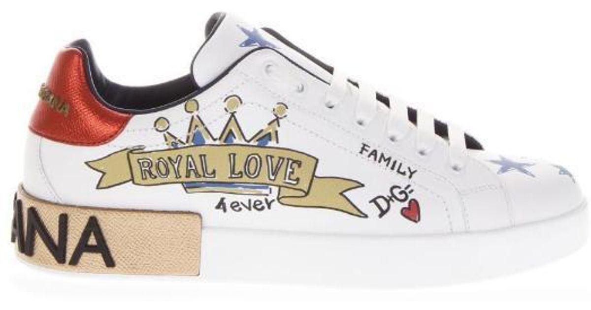 Dolce \u0026 Gabbana Leather Royal Love