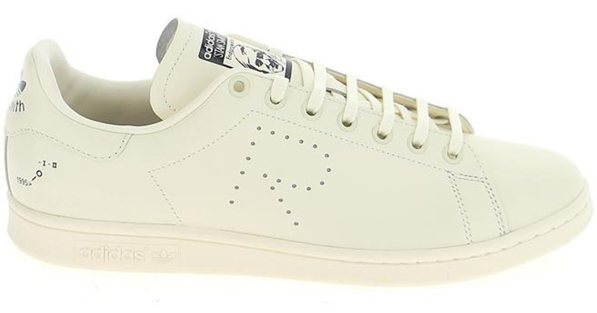 058bd221ae7e Lyst - Adidas By Raf Simons Lace-up Low Top Sneakers in White for Men