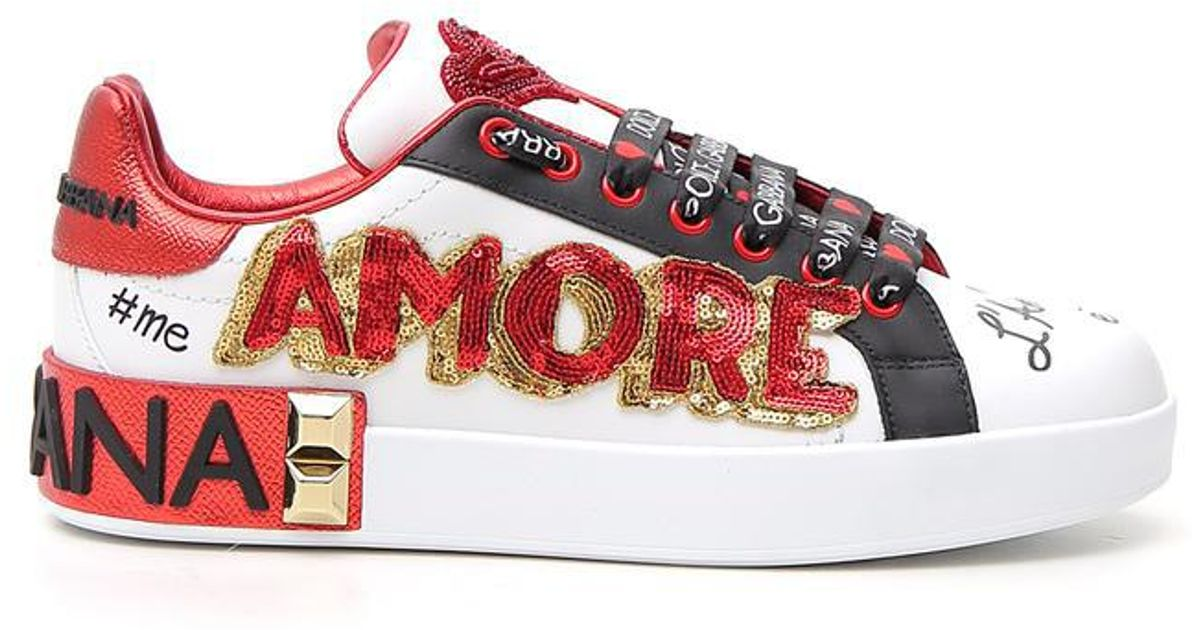 Amore Embellished Sneakers