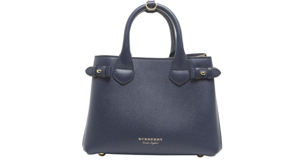 7ebaeafde8 Burberry Banner Tote Bag in Blue - Lyst